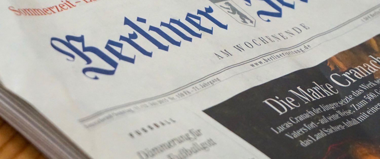 Zeitungspapier als Grundlage für Zellulose